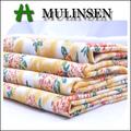 alta calidad llanura tejido stretch 60s impreso satén de algodón de la india en línea de la tela para prendas de vestir