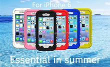 New design PC + Slicion waterproof for iphone6 case 2015 wholesalers china