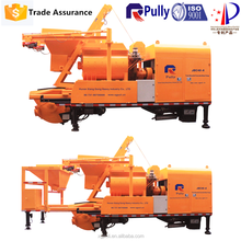 electric truck mounted concrete mixer pump