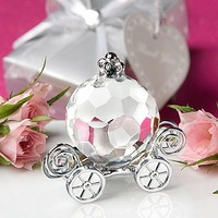 See larger image Crystal Crafts Collection Pumpkin Carriage Crystal Wedding favors