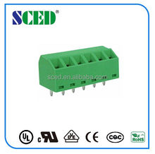 screw clamp terminal block 3.81mm 300V 10A 2-28P Raising terminal block