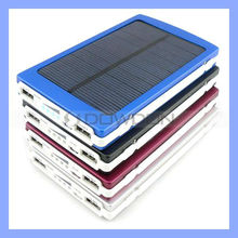 5V 2.1A/5V 1A External Battery Solar Battery Charger 10000mAh