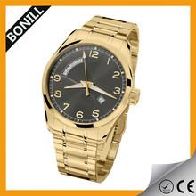 2014 hot sale china supplier fashion sexy 24k gold watch for men/women