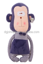 2015 hote sale custom plush toys monkey