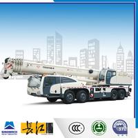 Changjiang Brand white color hydraulic mobile crane singapore, mobile crane specification, telescopic hydraulic crane