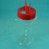 square plastic bottle 500ml