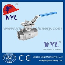 DN100 CF8 2PC Ball Valve