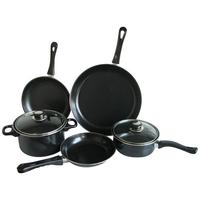 4pcs luxury black/nonstick/eco_friend cookware sets