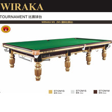 Wiraka Silver Steel Block Snooker Table