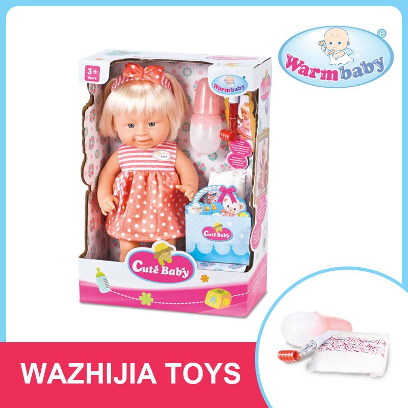 Bonito beber xixi menina boneca engraçado brinquedo chenghai shantou fábrica aceite o oem