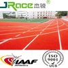Weather resistance synthetic rubber athletic track