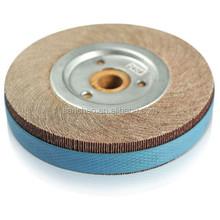 aluminum oxide abrasive flap wheel for polishing wood cabinet