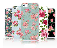 Floral Rose Flower Vintage Shabby Chic Phone Case For iPhone 4 4s 5 5s 5c--Laudtec