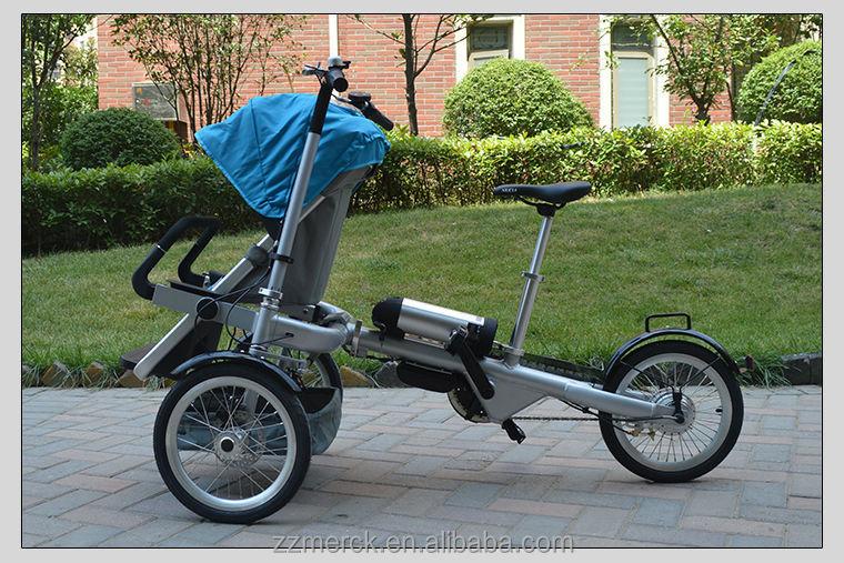 Multifunctional motorized baby stroller baby trolley with Motorized baby stroller