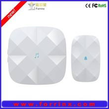 CE/FCC/ROHS approval AC 110~220V audio wireless doorbell 52 songs digital wifi doorbell