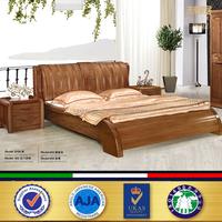 luxury teak wood modern bed designs