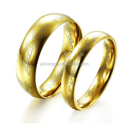gold ring for men, fashion jewelry big ring