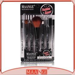 2015 Fashion Makeup Brushs 5pieces Per Set Cosmetic Brush Tool Mini Makeup Kit