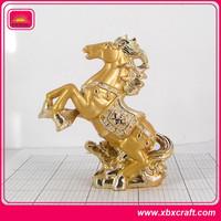 antique horse metal brass animal figurines horse sculpture