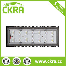 DLC and ETL listed industrial LED warehouse gym flood light for US market square outdoor high low bay highbay light