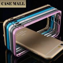 New Design aluminum alloy metal frame bumper mobile phone case for iphone 6+