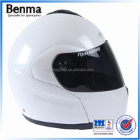 S/M/L/XL four size motorcycle helmets adjustable chin strap and standard clip