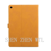 new model wood grain leather case for ipad air 2