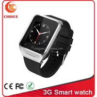 coolest android watch phone 3g wifi with 5.0 camera and dual core cpu