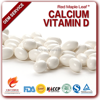 Calcium soft gel capsules for old people