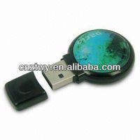 Circular glue U disk 1gb drives