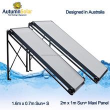 2*1m swimming pool solar pool collector