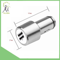 Cheap used cars for sale dual usb car charger 2015 stainless cell phone car charger