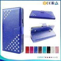 Luxury sparkle pu leather protective case for Motorola Moto G3