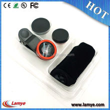 Top Selling zoom telescope for mobile phone iphone camera lens, Clip Lens