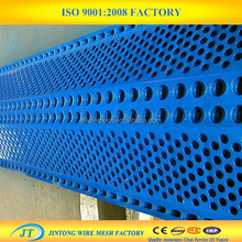 Blue Color Powder Coated Wind Proof Net (factory directly)
