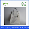 Plastic Material printed custom made shopping bags for packing clothes.