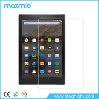 new arrival!! high transparent clear tablet screen protector for amazon kindle fire hd 10""