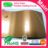High gloss smooth metallic gold powder coating paint