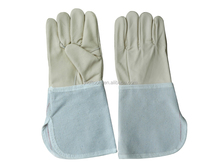 Cheap furniture leather canvas plus bending welding gloves Cheap furniture leather canvas plus bending welding gloves