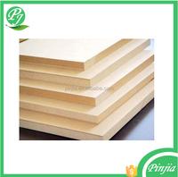 mdf board price/ E2 gule medium density fiberboard / wholesale mdf