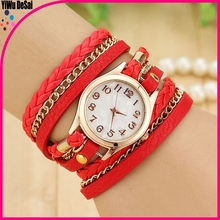 new women's wrist watch branded watch/rope bracelet digital watch