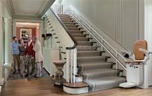 SSL120 high-tech straight stair lift chair company