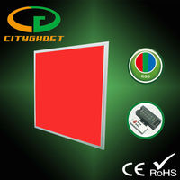 ISO9001 Certified Manufacturer CE approved 32W DMX 600X600 RGB LED Panel Light for DMX512 Dimming System