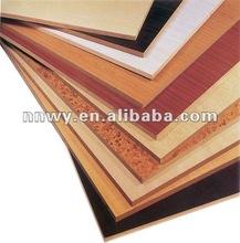 low price decorative melamine mdf sheet