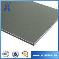 Megabond aluminum composite pnael fiber cement siding
