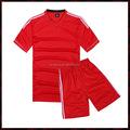 Rojo blanco camisetas de bola de fútbol venta