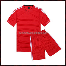 red blank soccer ball jerseys for sale