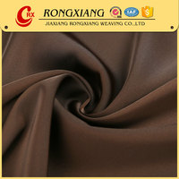 China Suppliers Best selling Elegant Woven polyester satin fabric for dress fa