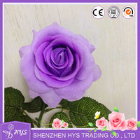 High Quality Artificial Rose Real Touch Flower