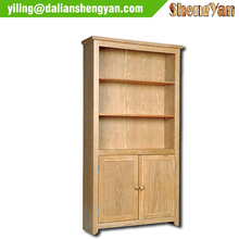 Tall Bookcase with Doors, Wooden Bookcase Furniture